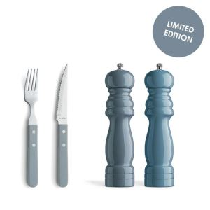 7000 Pizza Steak/BBQ set Denim Blues