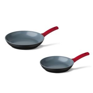 Cuisinox frying pan set red