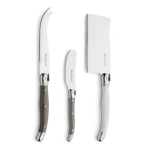 Lou Laguiole cheese knife set