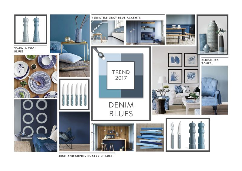 Denim Blues Trendboard 2017