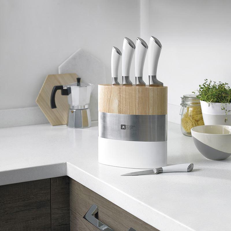 Sheffield Kitchen Knives: Fusion Fashion Block
